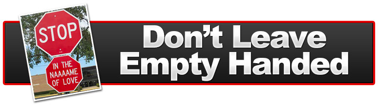 Don T Leave Empty Handed